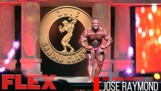 2016 Arnold Classic 212 Posing Routine: Jose Raymond