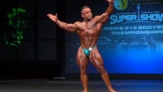 Jose Raymond 2013 Toronto Pro Posing Routine