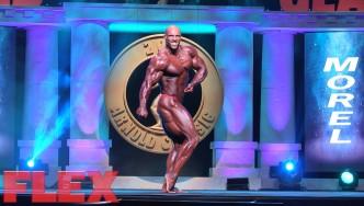 Juan Morel's 2016 Arnold Classic Posing Routine