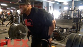 Juan Morel Trains Back Before the 2015 Olympia