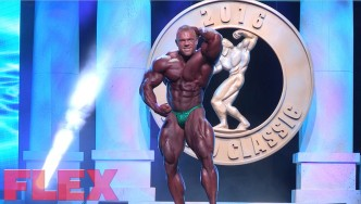 Justin Compton's 2016 Arnold Classic Posing Routine