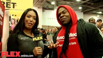 Kai Greene at the 2015 Arnold Sports Festival