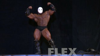 Kai Greene Guest Posing at the 2015 Pittsburgh Pro