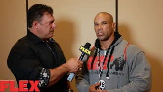 2016 Olympia Athlete Meeting: Kevin Levrone