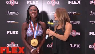 2X Figure Olympia Champion, Latorya Watts