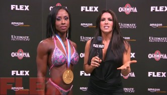 New Figure Olympia Champion, Latorya Watts