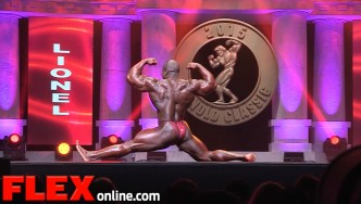 The 2015 Arnold Classic Posing Routine of Lionel Beyeke