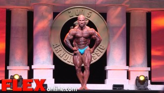 Marco Rivera's 2015 Arnold Classic 212 Posing Routine
