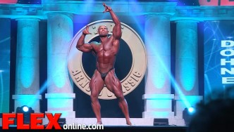 The 2015 Arnold Classic Posing Routine of Marius Dohne