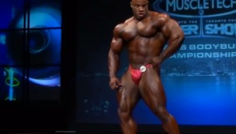 IFBB Pro Victor Martinez Toronto Pro Posing Routine