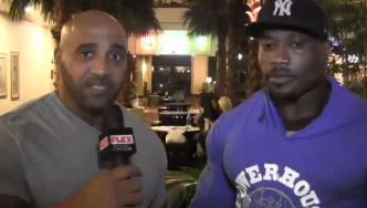 Maxx Charles Interview at NPC USAs Check-In