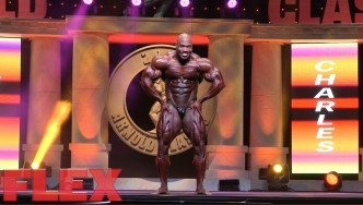 Maxx Charles' 2016 Arnold Classic Posing Routine
