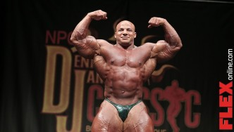 Big Ramy Guest Posing at the Dennis James Classic
