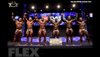 Open Bodybuilding Awards - 2015 IFBB EVLS Prague Pro