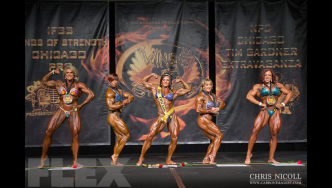 Women's Bodybuilding Awards - 2015 Chicago Pro