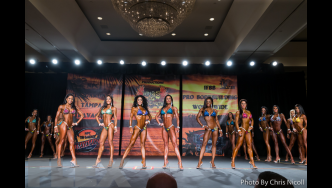 Bikini Comparisons - 2015 IFBB Tampa Pro