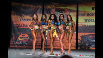 Bikini Final Comparisons & Awards - 2015 IFBB Tampa Pro