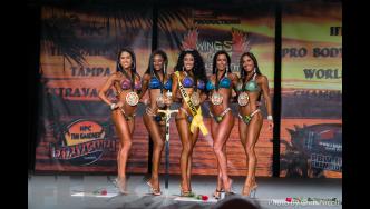 Bikini Final Comparisons & Awards - 2015 IFBB Tampa Pro