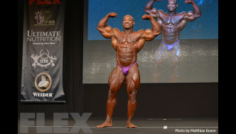 Dexter Jackson - Open Bodybuilding - 2016 Joe Weider's Olympia Europe