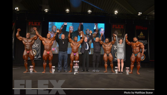 Open Bodybuilding Final Posedown & Awards - 2016 Joe Weider's Olympia Europe