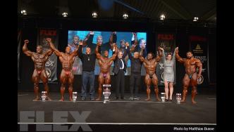 Open Bodybuilding Final Posedown & Awards - 2016 Joe Weider's Olympia Europe