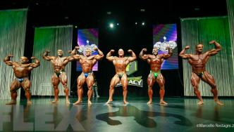 Comparisons - Open Bodybuilding - 2016 IFBB Ferrigno Legacy Pro