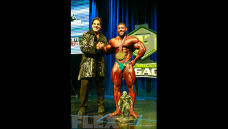 Awards - Open Bodybuilding - 2016 IFBB Ferrigno Legacy Pro