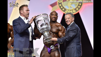 Open Bodybuilding Awards - 2016 Arnold Classic Europe