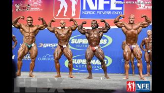 Comparisons - Open Bodybuilding - 2016 IFBB Nordic Pro