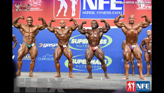 Comparisons - Open Bodybuilding - 2016 IFBB Nordic Pro