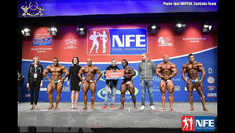 Final Comparisons & Awards - Open Bodybuilding - 2016 IFBB Nordic Pro