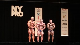 2017 NY Pro 212 Bodybuilding Final Posedown & Awards