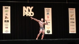 Kenneth Owens - 3rd Place Classic Physique 2017 NY Pro