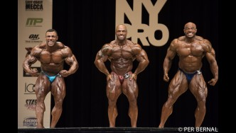 Open Bodybuilding Comparisons - 2017 NY Pro