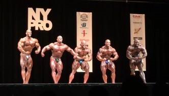 2017 NY Pro Open Bodybuilding Final Posedown & Awards