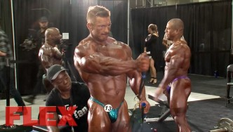 2017 Olympia Pump Up Room: The 212 Division