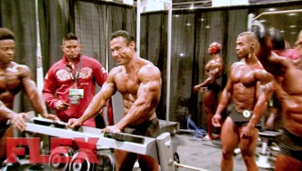 2017 Olympia Pump Up Room: Classic Physique