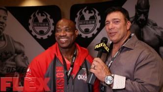 2017 Olympia Meet the Olympians: Dexter Jackson