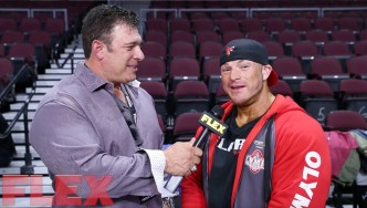 2017 Olympia Meet the Olympians: Flex Lewis