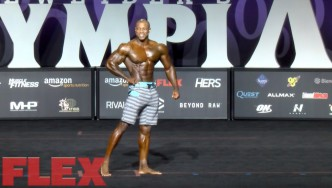 2017 Men's Physique Olympia 3rd Place Finisher, Brandon Hendrickson