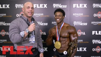 2017 Classic Physique Olympia Champ, Breon Ansley