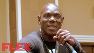 2017 Olympia Superstar Seminar: Flex Wheeler