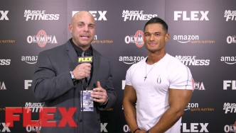 4X Men's Physique Olympia Champion, Jeremy Buendia