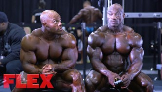 2017 Olympia Pump Up Room: The Men