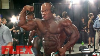 Behind-the-Scenes at the 2017 Mr. Olympia