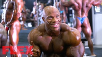 2017 Olympia Pump Up Room: 7X Mr. O Phil Heath