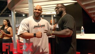2017 Olympia Expo Booth: The Weider Athletes