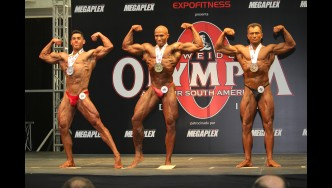 Classic Bodybuilding - 2017 Olympia Amateur South America