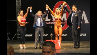 Wellness Fitness - 2017 Olympia Amateur South America