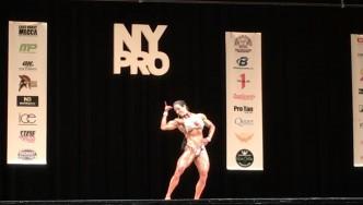Maria Rita Penteado - 2nd Place Women's Physique 2017 NY Pro